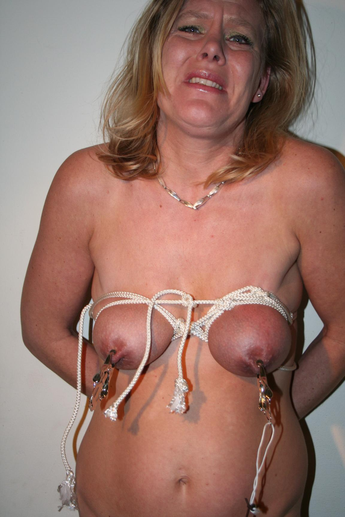bondage Amateur mature pain extreme