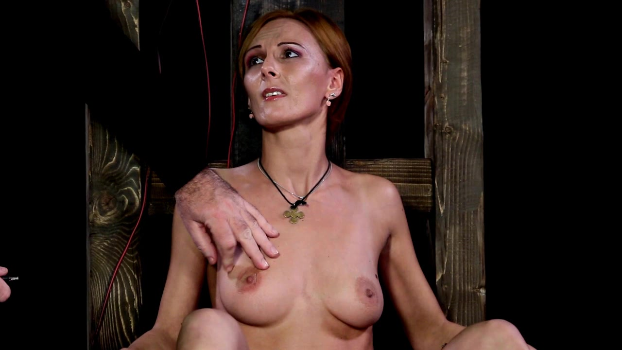 Nude girl in extreme pain congratulate, you