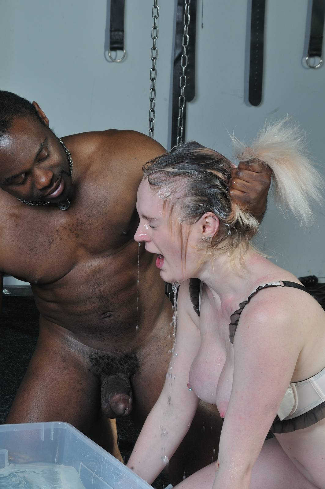 Otngagged uncensored black anal