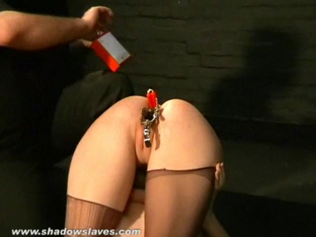 Kinky cherry torns bizarre burning ass punish 2