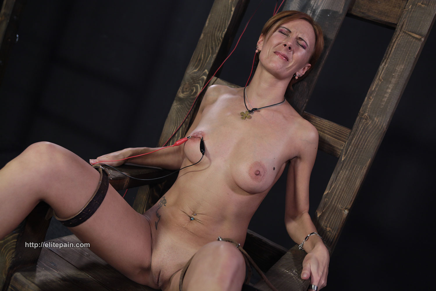 Merciless electro torture of chubby nimue allen in crying - 3 part 1